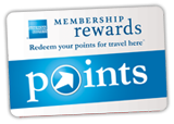 Membership Rewards Point - Redeem your points for travel here^